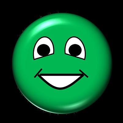 V happy